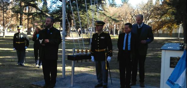 Ceremonia en homenaje a los 44 tripulantes del ARA San Juan
