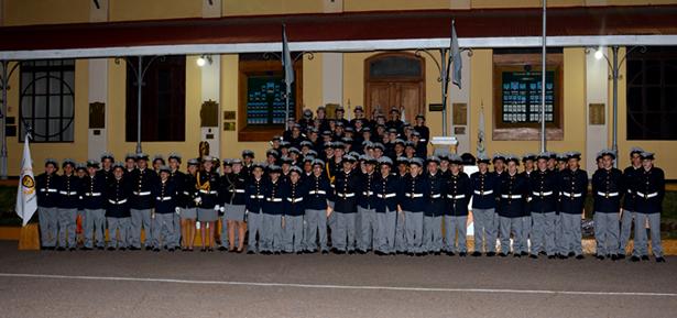 Ceremonia de entrega de uniformes