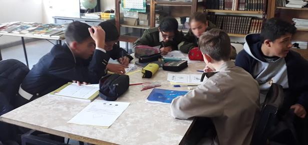 """Ier Encuentro Intercolegial """"Geometría e imaginación"""""""