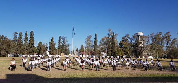 Ceremonia de egreso de alumnos de 6to grado