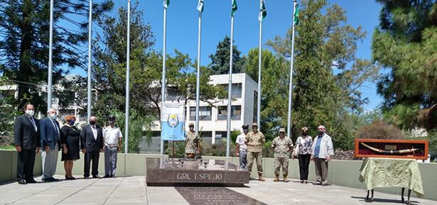 Ceremonia por el 132° aniversario del fallecimiento del General Gerónimo Espejo